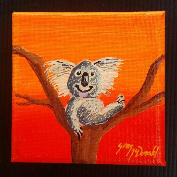 Koala Bear Paintings Gold Coast