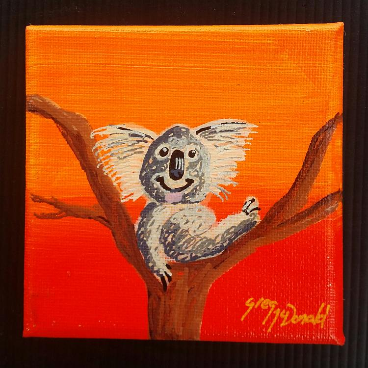 Koala Bear Paintings Gold Coast